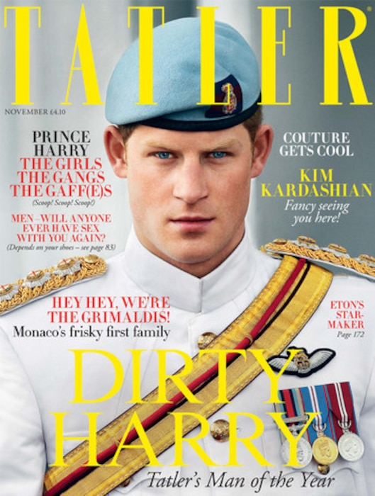 Prince Harry, Tatler Magazine
