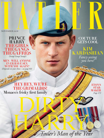 Prince Harry, Tatler Magazine