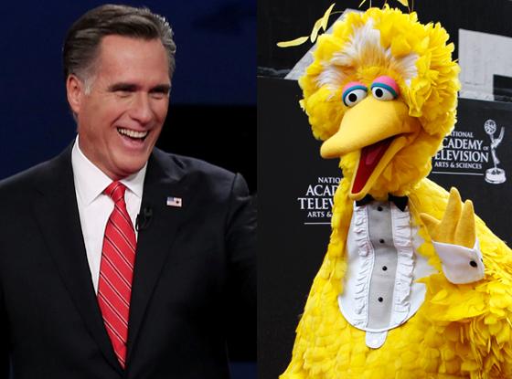 Mitt Romney, Big Bird