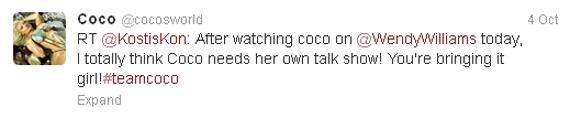 Coco Tweets ILC X7