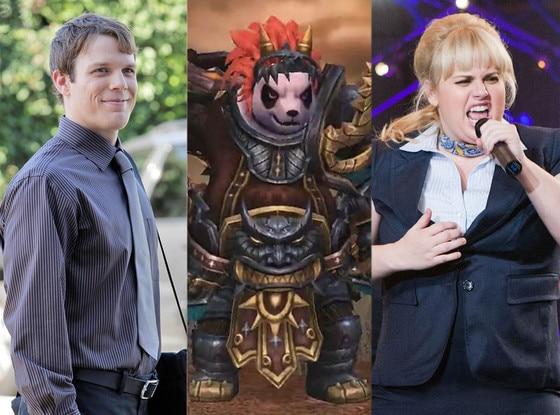 Warcraft Panda Bear, Jake Lacy, Rebel Wilson