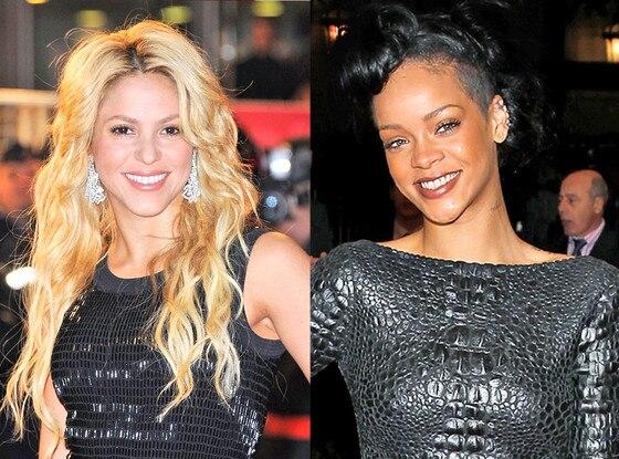 Rihanna, Shakira