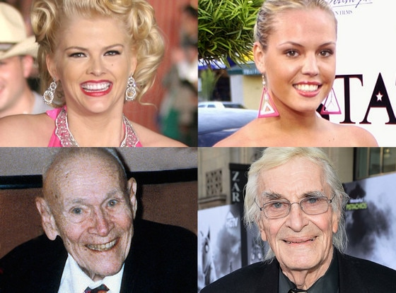 Anna Nicole Smith, Agnes Bruckner, J. Howard Marshall, Martin Landau