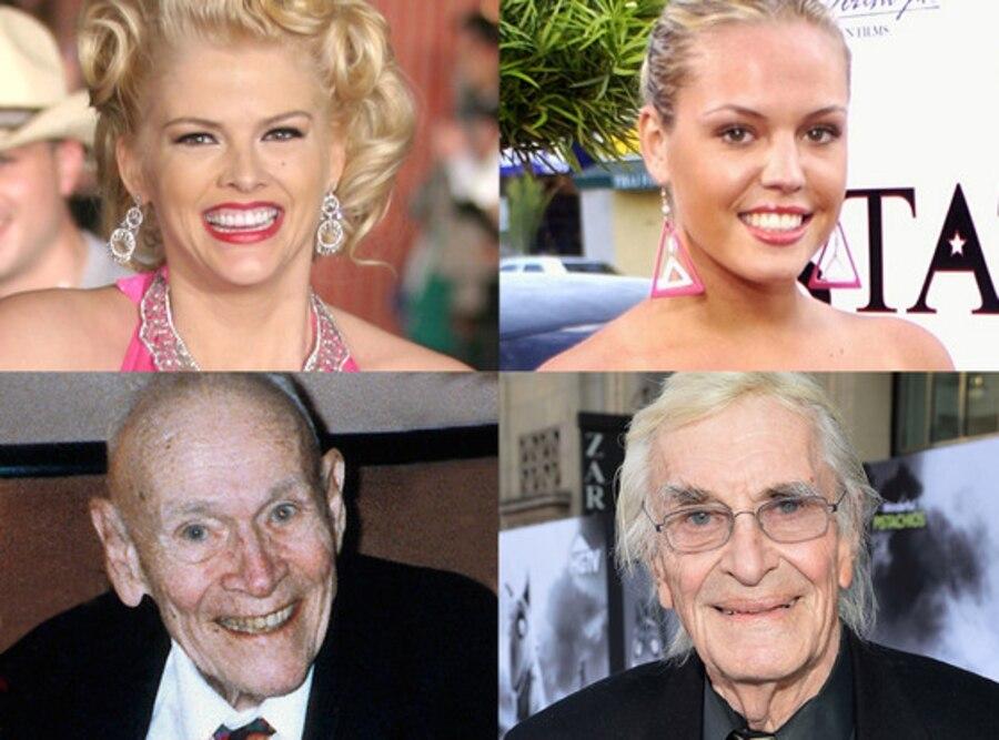 Anna Nicole Smith, Agnes Bruckner, J. Howard Marshall, Martin Landau