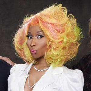 Astonishing Nicki Minaj39S American Idol Wild Side Watch Now E News Short Hairstyles Gunalazisus