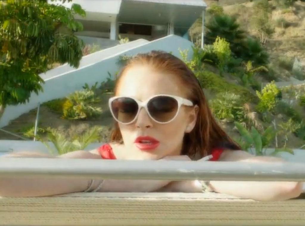 The Canyons, Lindsay Lohan