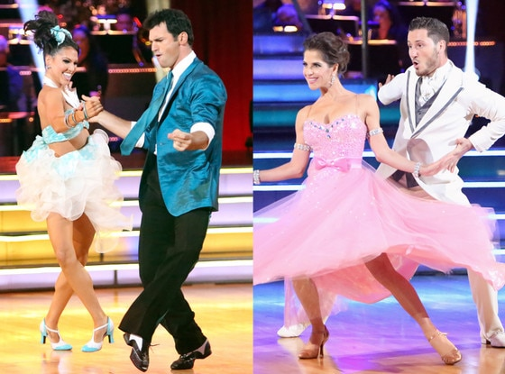Melissa Rycroft, Tony Dovolani,Kelly Monaco, Val CHmerkovskiy, Dancing with the Stars