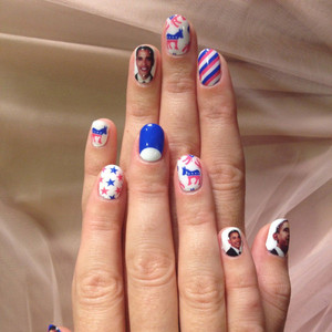 Katy Perry, Obama nails, Twit Pic