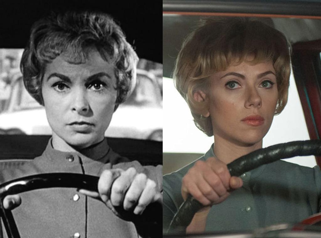 Janet Leigh, Scarlett Johansson, Psycho