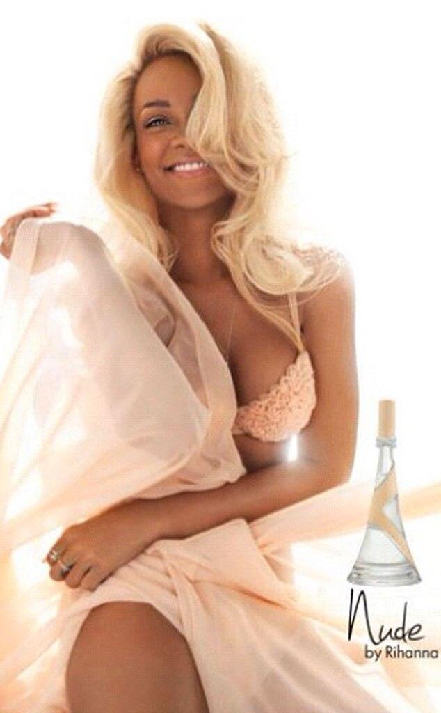 Rihanna, Nude Perfume Ad