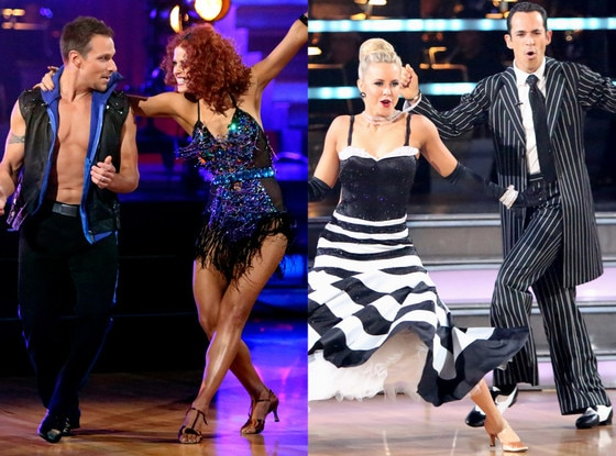Drew Lachey, Anna Trebunskaya, Helio Castroneves, Chelsie Hightower, Dancing with the Stars