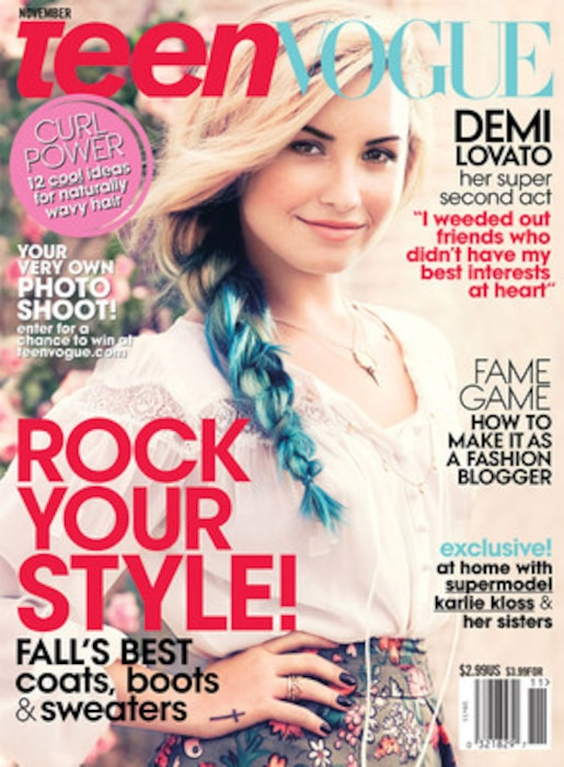 Demi Lovato, Teen Vogue