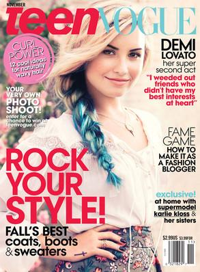 Demi Lovato, Teen Vogue