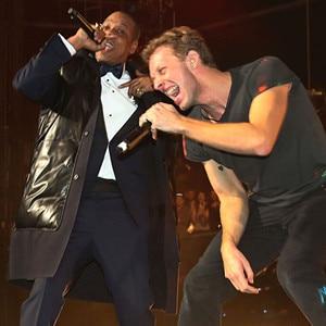 Jay Z, Chris Martin