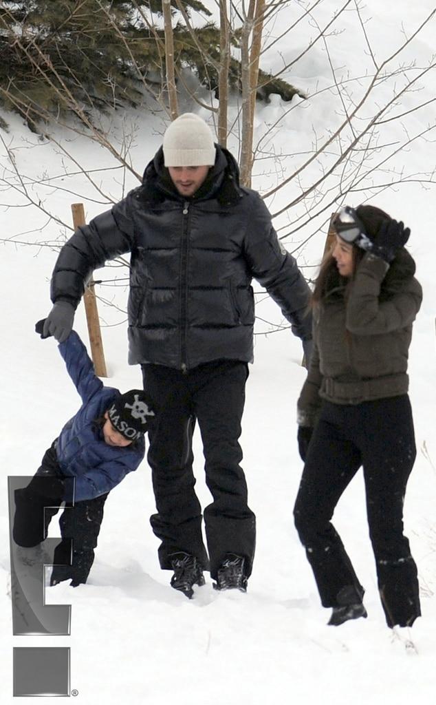 Kourtney Kardashian, Mason Disick, Scott Disick