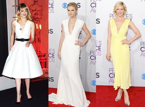 Emma Stone, Taylor Swift, Brittany Snow