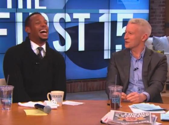 Marlon Wayans, Anderson Cooper