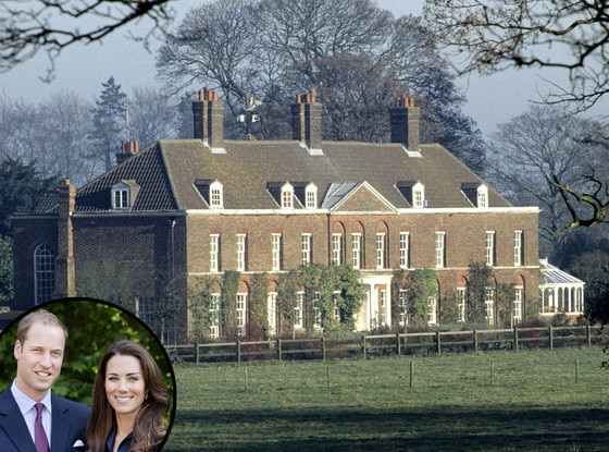 Kate Middleton, Prince William, Anmer Hall, Amner, Norfolk, Britain