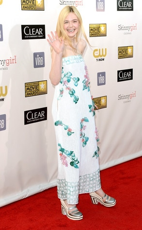 Elle Fanning, Critics Choice Movie Awards