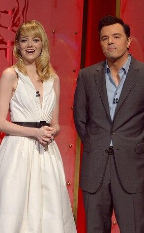 Emma Stone, Seth MacFarlane