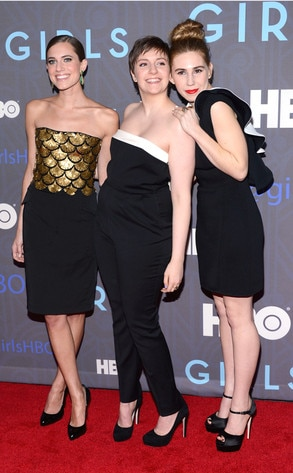 Allison Williams, Lena Dunham, Zosia Mamet