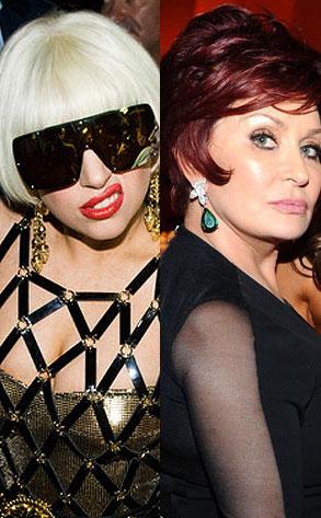 Lady Gaga, Sharon Osbourne