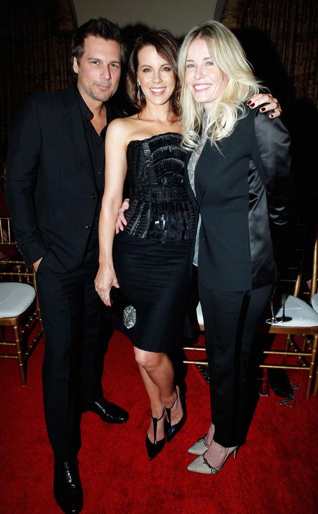 Len Wiseman, Kate Beckinsale, Chelsea Handler