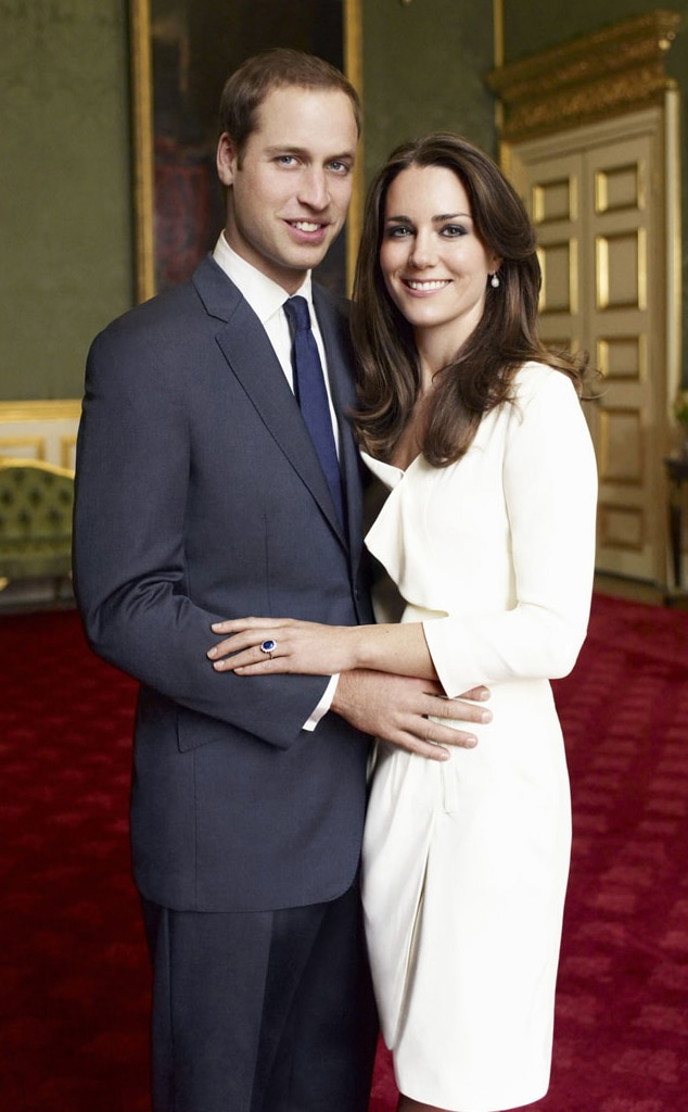 Kate Middleton, Prince William, Official Portrait