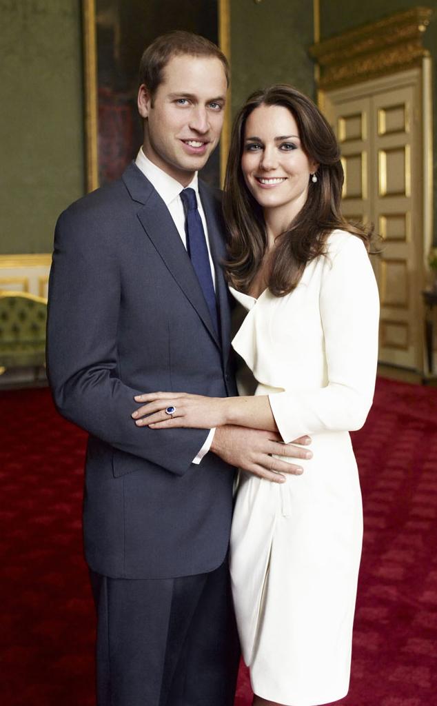 Kate Middleton, Prince William, Official Portrait