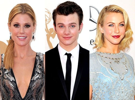 Julie Bowen, Chris Colfer, Julianne Hough