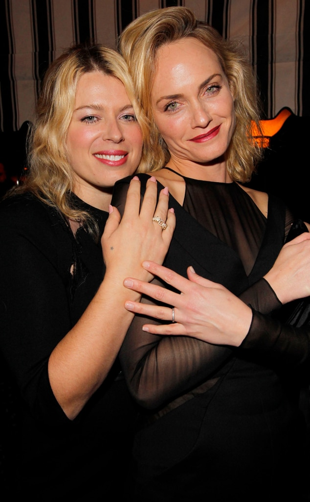 Amanda de Cadenet, Amber Valletta, W Magazine Party