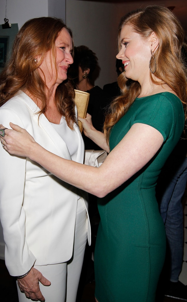 Melissa Leo, Amy Adams, W Magazine Party