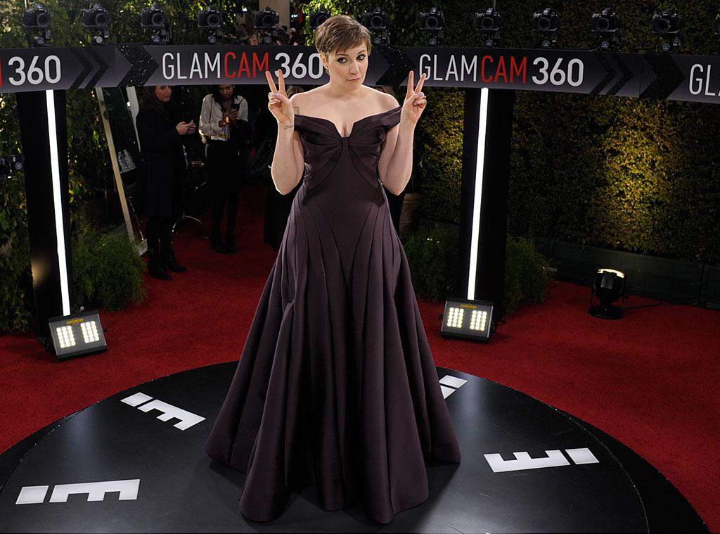Lena Dunham, Glam Clam 360