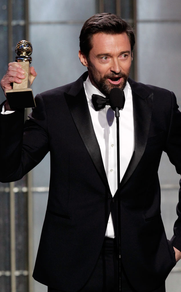 Hugh Jackman From Most Stylish Men At The 2013 Golden