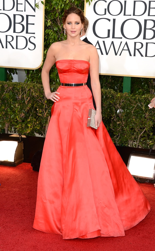 Jennifer Lawrence, Golden Globe, 2013
