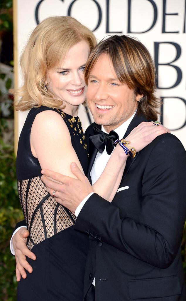 Nicole Kidman, Keith Urban, Golden Globe