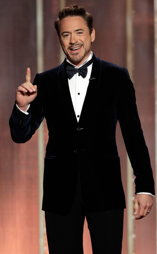 Robert Downey Jr From Most Stylish Men At The 2013 Golden