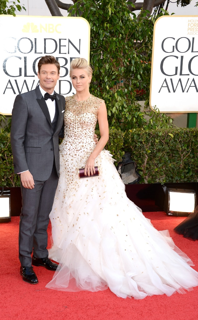 Ryan Seacrest, Julianne Hough, Golden Globe