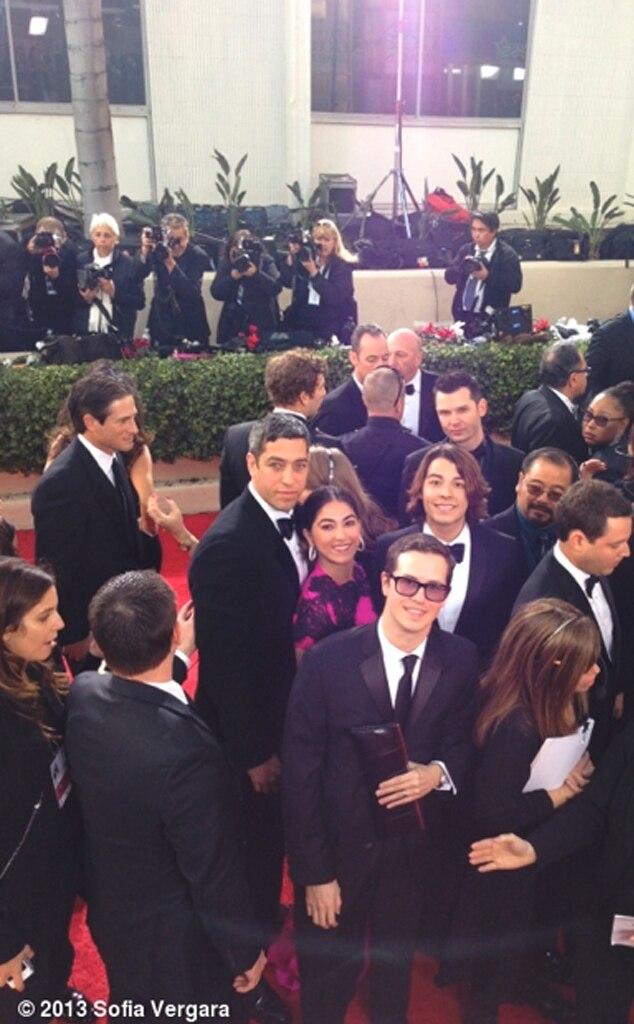 Golden Globes Twit pics