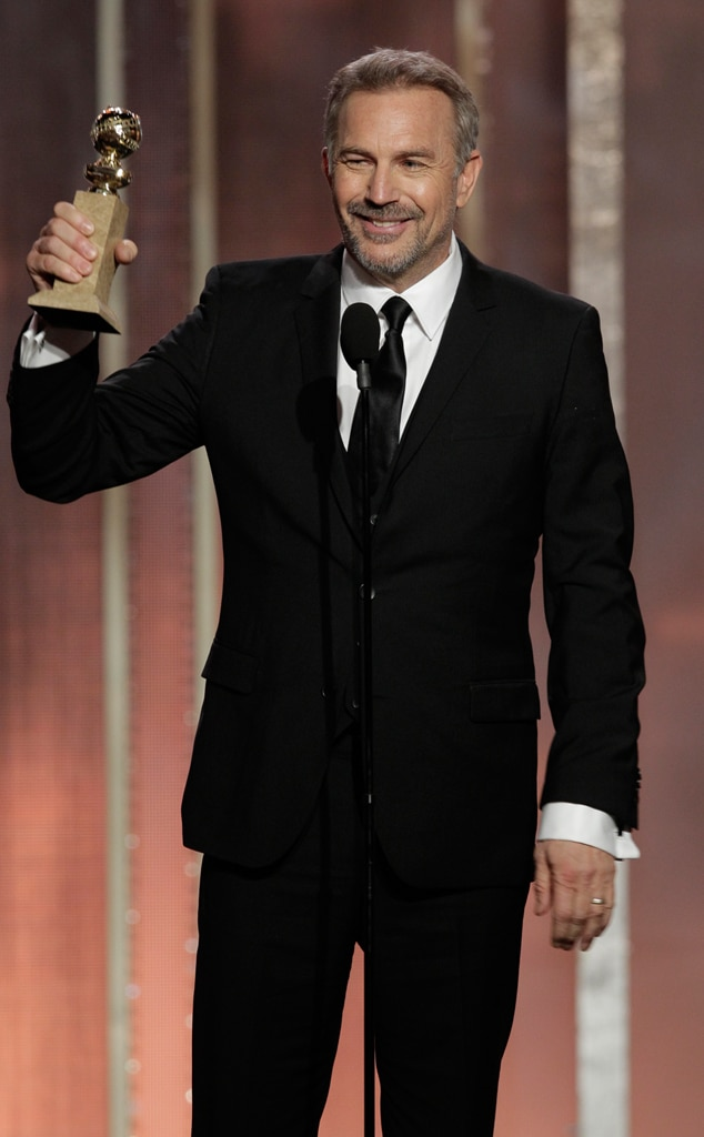 Kevin Costner, Golden Globes