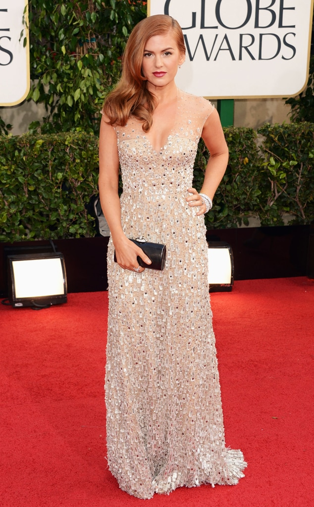 Isla Fisher, Golden Globes