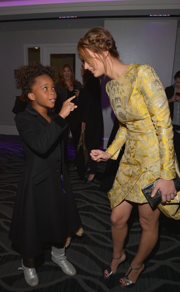 Quvenzhane Wallis, Jennifer Lawrence