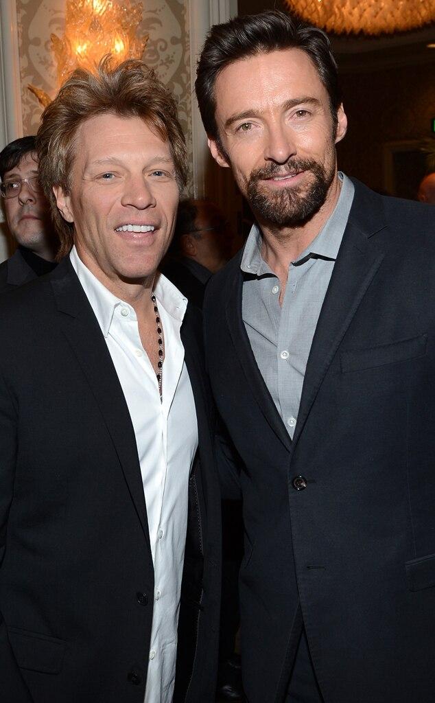 Jon Bon Jovi, Hugh Jackman