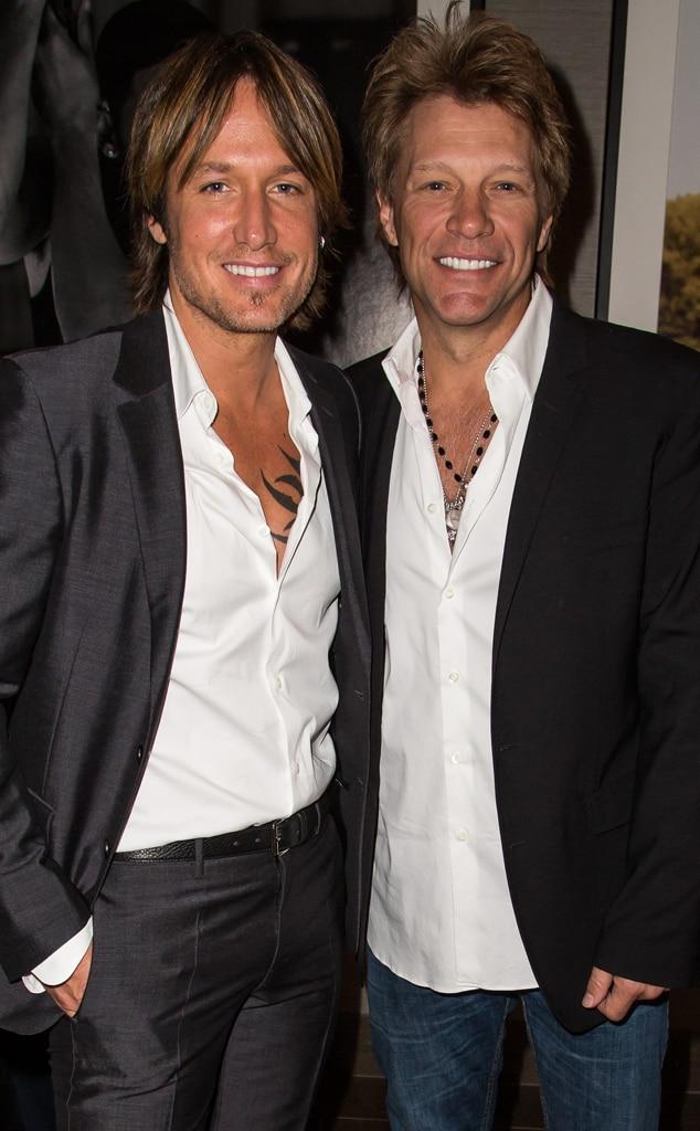 Keith Urban, Jon Bon Jovi