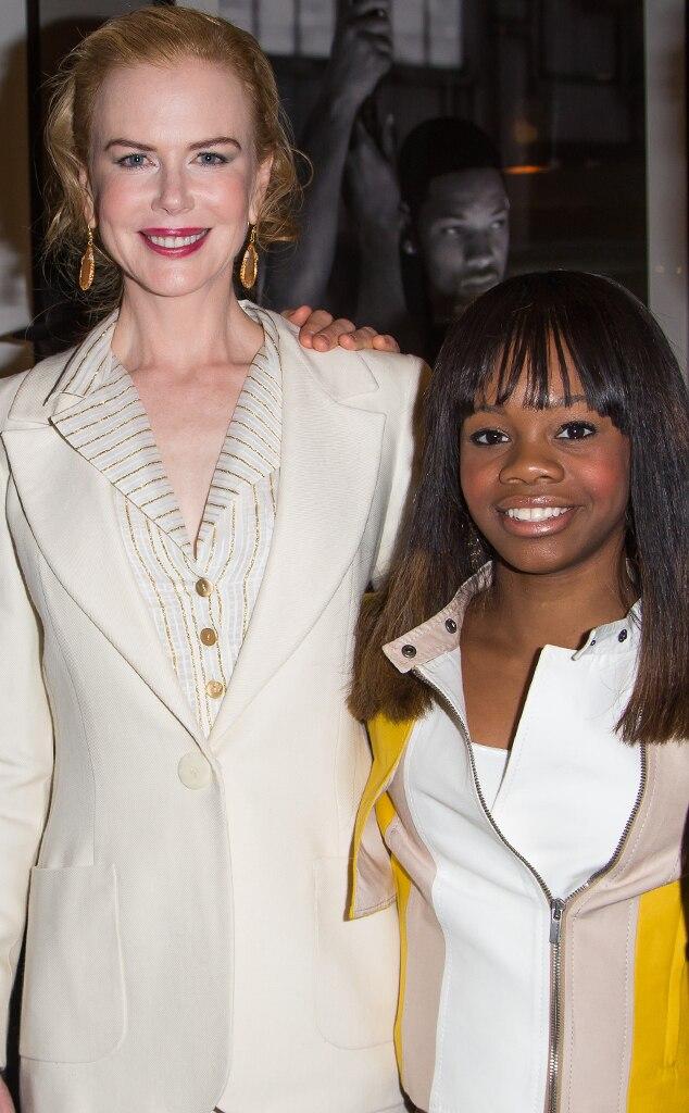 Nicole Kidman, Gabby Douglas