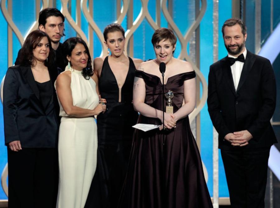 Lena Dunham, Girls Cast, Judd Apatow