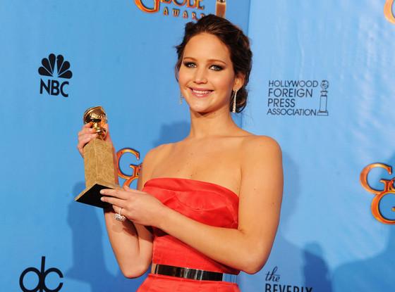 Jennifer Lawrence, Golden Globe, Winner
