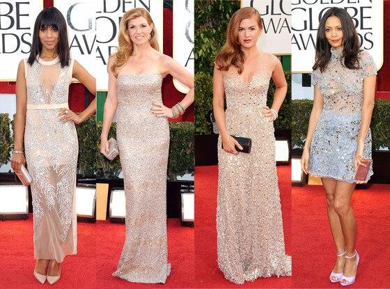 Trend: Light Sparkle, Kerry Washington, Connie Britton, Isla Fisher, Thandie Newton