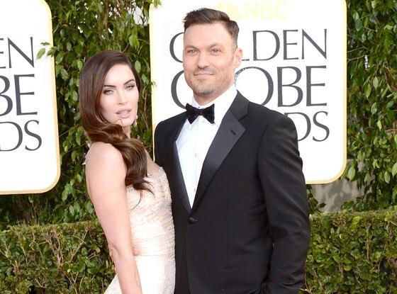 Megan Fox, Brian Austin Green, Golden Globes