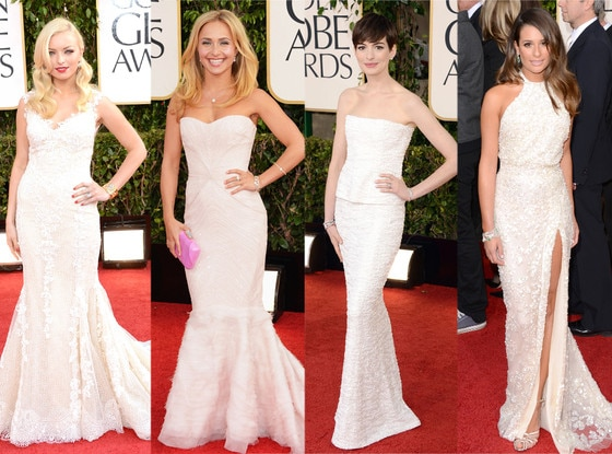 Lea Michele, Anne Hathaway, Hayden Panettiere, Francesca Eastwood